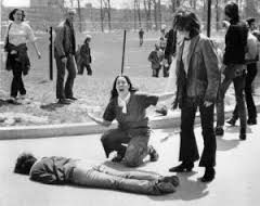 The iconic Kent State photo by John Filo
