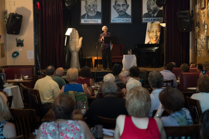 Reading from Her Own Vietnam at Busboys and Poets on July 7th, 2015.