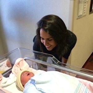 Aliya and baby