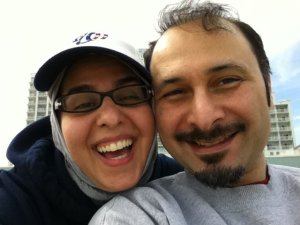Tannaz and hubby