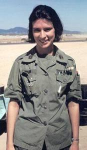 Photo of Army nurse in Vietnam