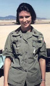 Photo of Army nurse in Vietnam