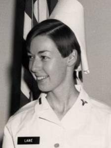 Woman in nurse's uniform